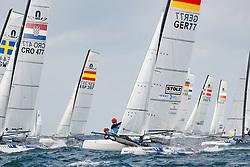 , Kieler Woche 05. - 13.09.2020, Nacra 17 - GER 77 - Paul KOHLHOFF - Alica STUHLEMMER - Kieler Yacht-Club e. V