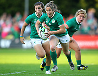 Rugby Union - 2017 Women's Rugby World Cup (WRWC) - Pool C: Ireland vs. Australia<br /> <br /> Ireland's Alison Miller in action , at the UCD Bowl, Dublin.<br /> <br /> COLORSPORT/KEN SUTTON