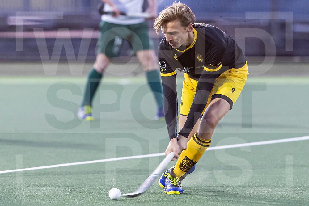 Rotterdam, Tulp Hoofdklasse Hockey Heren, Seizoen 2020-2021, 16-04-2021, Rotterdam - Den Bosch 0-3, Noud Schoenaker (Den Bosch)<br /><br /> COPYRIGHT WORLDSPORTPICS WILLEM VERNES