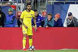 May 15, 2019 - Foxborough, MA, U.S. - FOXBOROUGH, MA - MAY 15: Chelsea FC defender Emerson (33) during the Final Whistle on Hate match between the New England Revolution and Chelsea Football Club on May 15, 2019, at Gillette Stadium in Foxborough, Massachusetts. (Photo by Fred Kfoury III/Icon Sportswire) (Credit Image: © Fred Kfoury Iii/Icon SMI via ZUMA Press)