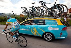 SILIN Egor of Astana during 1st Stage (164 km) at 19th Tour de Slovenie 2012, on June 14, 2012, in Celje, Slovenia. (Photo by Matic Klansek Velej / Sportida)