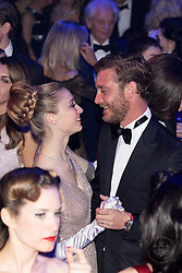 Pierre Casiraghi and Beatrice Casiraghi attend the Rose Ball 2019 at Sporting in Monaco, Monaco. Photo by Palais Princier/Olivier Huitel/SBM/ABACAPRESS.COM