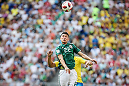 Hirving Lozano of Mexico during the 2018 FIFA World Cup Russia, round of 16 football match between Brazil and Mexico on July 2, 2018 at Samara Arena in Samara, Russia - Photo Thiago Bernardes / FramePhoto / ProSportsImages / DPPI