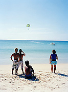 Para-sailing on Karon Beach