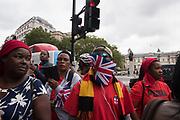 Demonstration outside the Ugandan Embassy. Pall Mall/ Trafalgar Sq. 23 August 2018