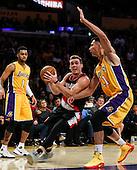 Basketball: 20161011 Los Angeles Lakers vs Portland Trail Blazers