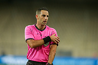 ATHENS, GREECE - OCTOBER 14: Referee Roi Reinshreiber during the UEFA Nations League group stage match between Greece and Kosovo at OACA Spyros Louis on October 14, 2020 in Athens, Greece. (Photo by MB Media)