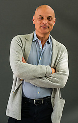 Pictured: Edinburgh International Book Festival, Edinburgh, Scotland, United Kingdom, 23 August 2019 . <br /> Daniel Mendelsohn, an American memoirist, essayist, critic, columnist, and translator is the Editor at Large of the New York Review of Books. He talks about his book 'The Bad Boy of Athens' at the book festival today.<br /> Sally Anderson | EdinburghElitemedia.co.uk
