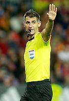 Greek referee Anastasios Sidiropoulos during international friendly match. November 11,2017.(ALTERPHOTOS/Acero)