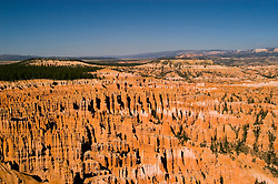 Bryce Canyon National Park, Ampitheater and Hoodoos of Silent City from Bryce Point, dawn, erosion, arid, Utah, UT, Southwest America, American Southwest, US, United States, Image ut349-18169, Photo copyright: Lee Foster, www.fostertravel.com, lee@fostertravel.com, 510-549-2202