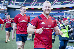 March 30, 2019 - Edinburgh, Scotland, United Kingdom - Jeremy Loughman of Munster celebrates during the Heineken Champions Cup Quarter Final match between Edinburgh Rugby and Munster Rugby at Murrayfield Stadium in Edinburgh, Scotland, United Kingdom on March 30, 2019  (Credit Image: © Andrew Surma/NurPhoto via ZUMA Press)