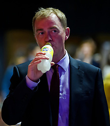 © Licensed to London News Pictures. 18/09/2018. Brighton, UK.  Former Liberal Democrat leader TIM FARRON attends the final day of the Liberal Democrat Autumn Conference in Brighton, East Sussex on September 18, 2018. This years event has been mainly focused around Brexit, the UK's departure from the EU. Photo credit: Ben Cawthra/LNP