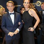 NLD/Amsterdam/20151015 - Televiziergala 2015, Art Rooijakkers en partner Andrea Pleijtte