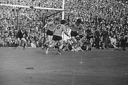 Group of players pile onto the ground in an attempts to get the ball during the All Ireland Senior Gaelic Football Final Kerry v Down in Croke Park on the 22nd September 1968. Down 2-12 Kerry 1-13.