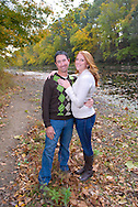 10/14/12 9:31:32 AM - Newtown, PA.. -- Amanda & Elliot October 14, 2012 in Newtown, Pennsylvania. -- (Photo by William Thomas Cain/Cain Images)