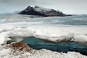Looking under Ice, Fjallsarlon
