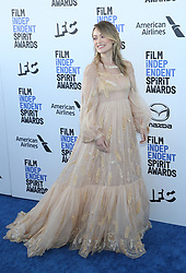 February 8, 2020, Los Angeles, California, United States: 2020 Film Independent Spirit Awards held at Santa Monica Pier..Featuring: Olivia Wilde.Where: Los Angeles, California, United States.When: 08 Feb 2020.Credit: Faye's VisionCover Images (Credit Image: © Cover Images via ZUMA Press)