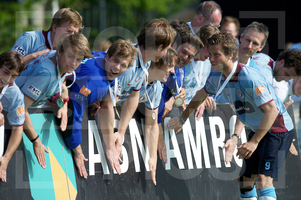 AMSTERDAM - EHL FINALS.UHC v HC Rotterdam.UHC wins final.FFU PRESS AGENCY COPYRIGHT FRANK UIJLENBROEK..