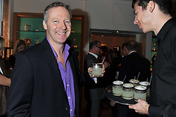RORY BREMNER at the Linley Christmas Party held at Linley, 60 Pimlico Road, London on 16th November 2011.