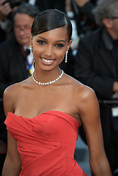 Jasmine Tookes attending the premiere of the film Les Filles du Soleil during the 71st Cannes Film Festival in Cannes, France on May 12, 2018. Photo by Julien Zannoni/APS-Medias/ABACAPRESS.COM