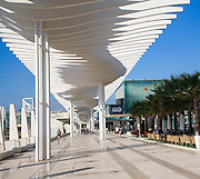 Museo Alborania Aula del Mar at the Quay two El Palmeral de las Sorpresas port development of the modern new cruise terminal, Malaga, Spain