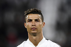 May 3, 2019 - Turin, Italy - Juventus forward Cristiano Ronaldo (7) poses in order to be photographed before the Serie A football match n.35 JUVENTUS - TORINO on 03/05/2019 at the Allianz Stadium in Turin, Italy. (Credit Image: © Matteo Bottanelli/NurPhoto via ZUMA Press)