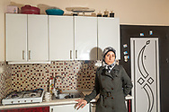 Dr Amani Ballour, in her home in Gaziantep, a southern Turkish city close to the Syrian border.