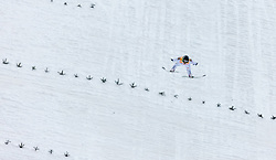 03.01.2016, Bergisel Schanze, Innsbruck, AUT, FIS Weltcup Ski Sprung, Vierschanzentournee, Bewerb, im Bild Sieger Peter Prevc (SLO) // Winner Peter Prevc of Slovenia during his Competition Jump of Four Hills Tournament of FIS Ski Jumping World Cup at the Bergisel Schanze, Innsbruck, Austria on 2016/01/03. EXPA Pictures © 2016, PhotoCredit: EXPA/ JFK