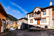 Old style bulgarian traditional houses