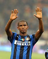 Fotball<br /> Italia<br /> Foto: Inside/Digitalsport<br /> NORWAY ONLY<br /> <br /> Samuel Eto'o<br /> <br /> Inter v Palermo 5-3 <br /> 29.10.2009