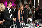 Eddie Redmayne, Lady Helen Taylor and Jason McCue, Not Another Burns night.  Fundraising gala in aid of Clic Sargent and Children's Hospice Association Scotland (CHAS)St. Martin's Lane Hotel.  Monday 3rd March *** Local Caption *** -DO NOT ARCHIVE-© Copyright Photograph by Dafydd Jones. 248 Clapham Rd. London SW9 0PZ. Tel 0207 820 0771. www.dafjones.com.
