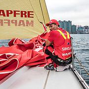 Hong Kong stopover, In Port Race on board MAPFRE. Photo by Ugo Fonolla/Volvo Ocean Race. 27 January, 2018.