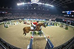 Davis Lucy, (USA), Barron<br /> Longines FEI World Cup™ Jumping Final II<br /> Las Vegas 2015<br />  © Hippo Foto - Dirk Caremans<br /> 18/04/15