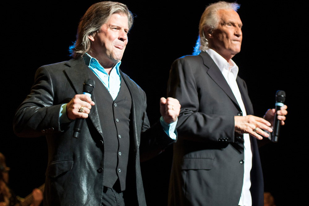 The Righteous Brothers perform at the Ravinia Festival in Highland Park, IL on August 24, 2018.