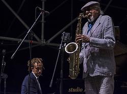 July 28, 2017 - Rome, Italiy, Italy - Charles Lloyd Quartet live performance at Caza del Jazz (Credit Image: © Fabrizio Sodani/Pacific Press via ZUMA Wire)