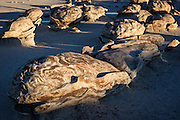 The magical formations at the Bisti Wilderness in NW New Mexico, near Farmington