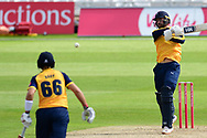 Will Fraine of Yorkshire during the Vitality T20 Blast North Group match between Nottinghamshire County Cricket Club and Yorkshire County Cricket Club at Trent Bridge, Nottingham, United Kingdon on 31 August 2020.