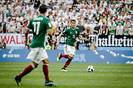 Hector Moreno of Mexico during the 2018 FIFA World Cup Russia, Group F football match between Germany and Mexico on June 17, 2018 at Luzhniki Stadium in Moscow, Russia - Photo Thiago Bernardes / FramePhoto / ProSportsImages / DPPI