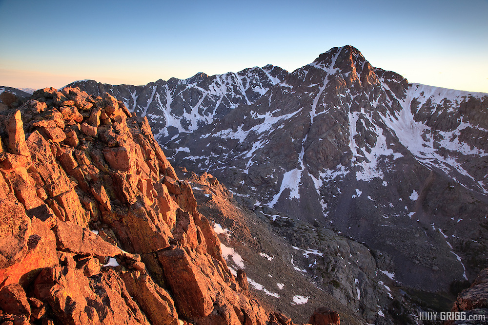 No description needed for this Colorado Fourteener 'Mount of the Holy Cross' 14,005ft. Colorado's 51st highest peak