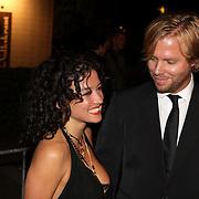 NLD/Utrecht/20080927 - Inloop het Wapen van Geldrop, Katja Schuurman en partner Thijs Römer