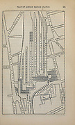 Plan of London Bridge Station From the book ' London and its environs : a practical guide to the metropolis and its vicinity, illustrated by maps, plans and views ' by Adam and Charles Black Published in Edinburgh by A. & C. Black 1862