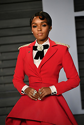 Janelle Monae attending the 2018 Vanity Fair Oscar Party hosted by Radhika Jones at Wallis Annenberg Center for the Performing Arts on March 4, 2018 in Beverly Hills, Los angeles, CA, USA. Photo by DN Photography/ABACAPRESS.COM