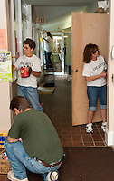 (Karen Bobotas/for the Laconia Daily Sun)United Way Day of Caring throughout the region on Friday, September 9, 2011.  (Karen Bobotas/for the Laconia Daily Sun).