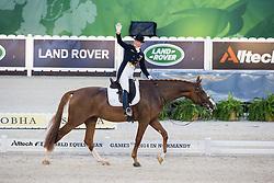 Isabell Werth, (GER), Bella Rose 2 - Grand Prix Team Competition Dressage - Alltech FEI World Equestrian Games™ 2014 - Normandy, France.<br /> © Hippo Foto Team - Leanjo de Koster<br /> 25/06/14