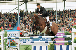 Geerink Peter (NED) - Heartbreaker<br /> CSIO Aken 1999<br /> Photo© Dirk Caremans