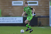 Forest Green Rovers Liam Kitching(20) during the EFL Sky Bet League 2 match between Forest Green Rovers and Salford City at the New Lawn, Forest Green, United Kingdom on 18 January 2020.
