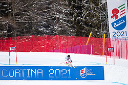 21.01.2018, Olympia delle Tofane, Cortina d Ampezzo, ITA, FIS Weltcup Ski Alpin, Super G, Damen, im Bild Lara Gut (SUI) // Lara Gut of Switzerland during ladie' s SuperG of the Cortina FIS Ski Alpine World Cup at the Olympia delle Tofane course in Cortina d Ampezzo, Italy on 2018/01/21. EXPA Pictures © 2018, PhotoCredit: EXPA/ Dominik Angerer