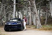 August 22-26, 2018. Model Rachel Cooke and the Lamborghini Urus