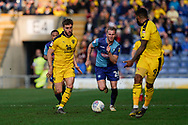 Luke Garbutt of Oxford United on the attack during the EFL Sky Bet League 1 match between Oxford United and Wycombe Wanderers at the Kassam Stadium, Oxford, England on 30 March 2019.