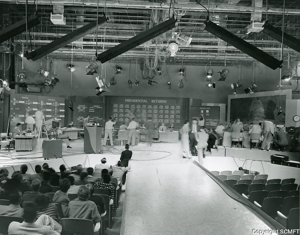 1956 Presidential returns on CBS TV